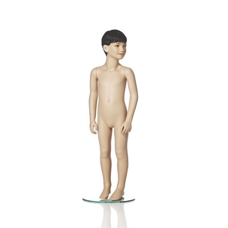 Hindsgaul naturalistic child. Height 110 cm
