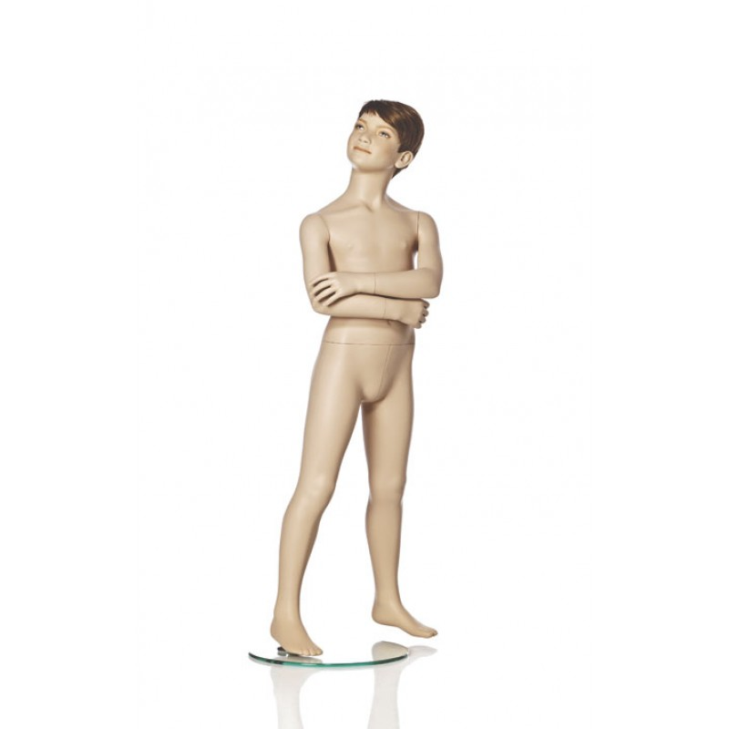 Hindsgaul naturalistic boy. Height 120 cm