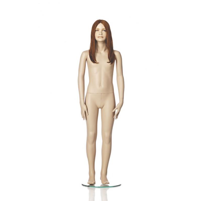 Hindsgaul naturalistic girl. Height 140 cm