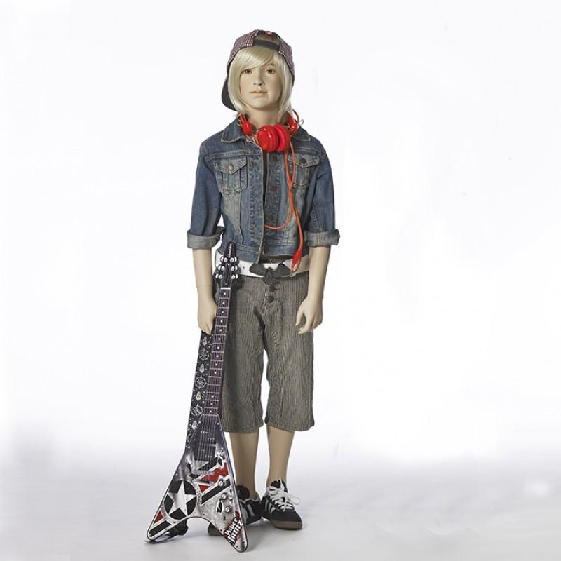 Hindsgaul naturalistic boy. Height 130 cm