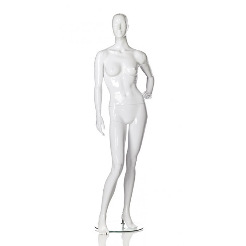 Hindsgaul High Gloss White Woman