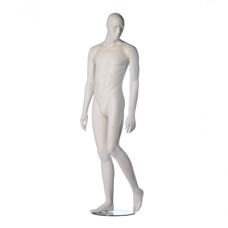 MALE MANNEQUIN – ROY – SLIM FIT – WHITE – WALKING – HINDSGAUL