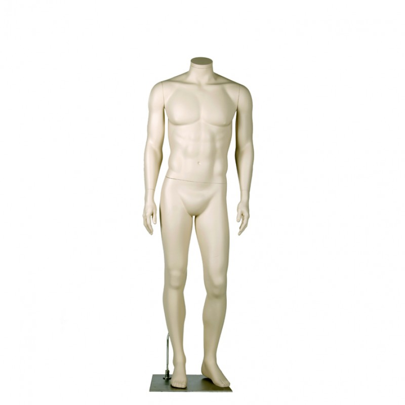 MALE MANNEQUIN – RELAXED POSE - DARROL 700 SERIES - NECK-LOCK SYSTEM