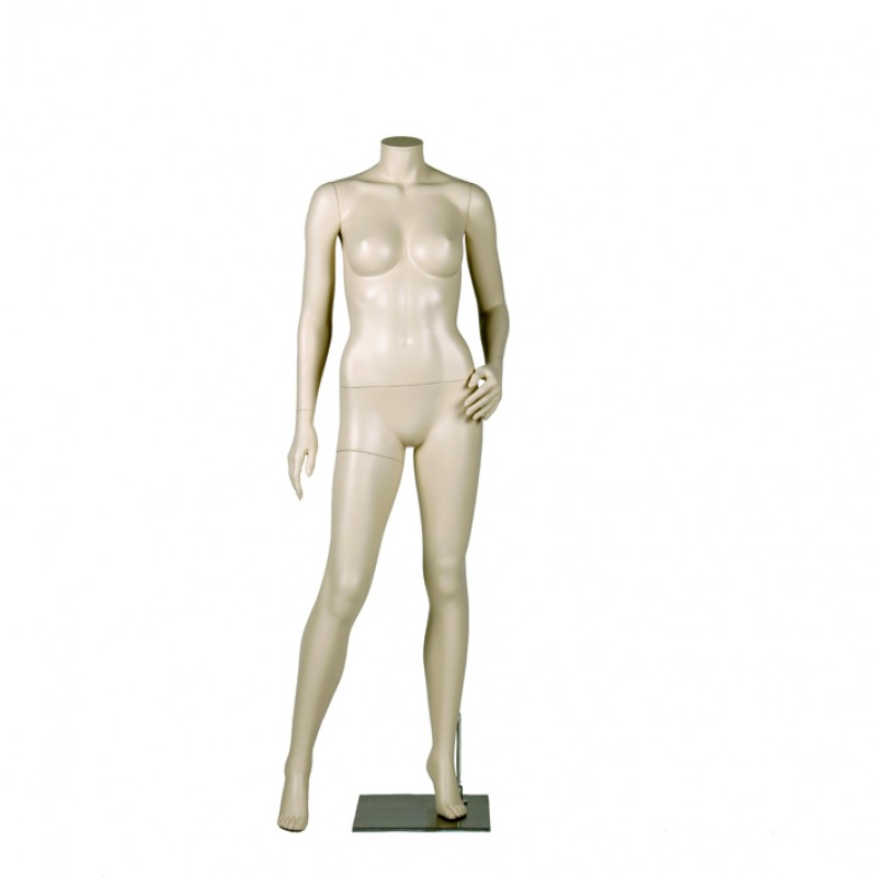 FEMALE MANNEQUIN – LEFT HAND ON HIP - DARROL 700 SERIES - NECK-LOCK SYSTEM