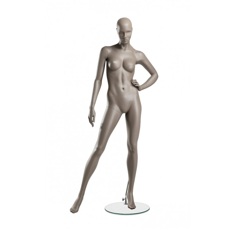 FEMALE MANNEQUIN - COY - RIGHT LEG SIDEWAYS - HINDSGAUL
