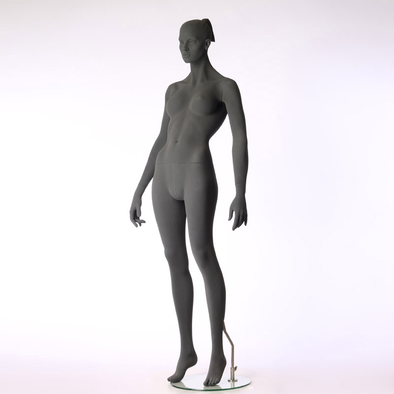 FEMALE MANNEQUIN – PURE STYLISED - WITH ROUGH SURFACE – HINDSGAUL