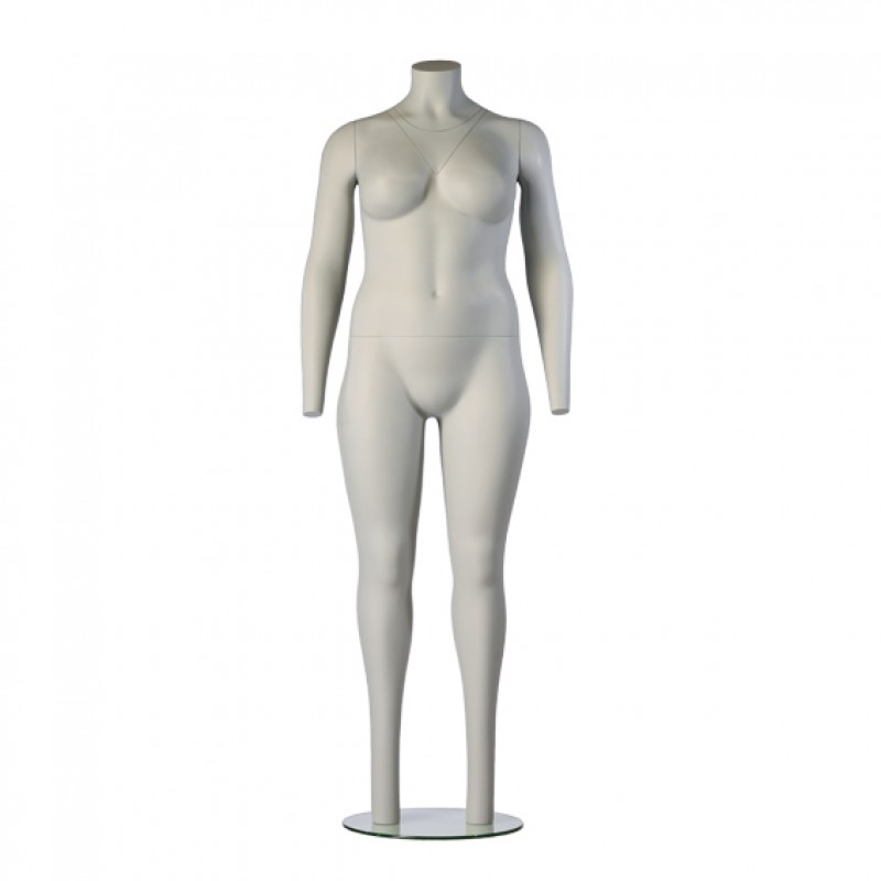 PACKSHOT FEMALE – PLUS SIZE - GHOST MANNEQUIN