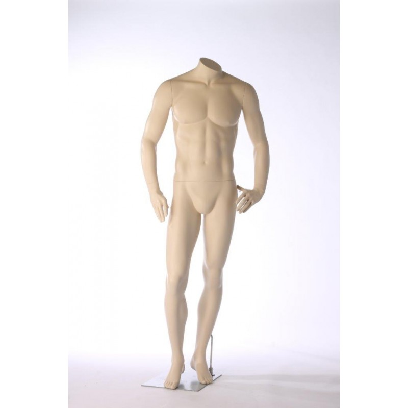 MALE MANNEQUIN - HEADLESS - DARROL