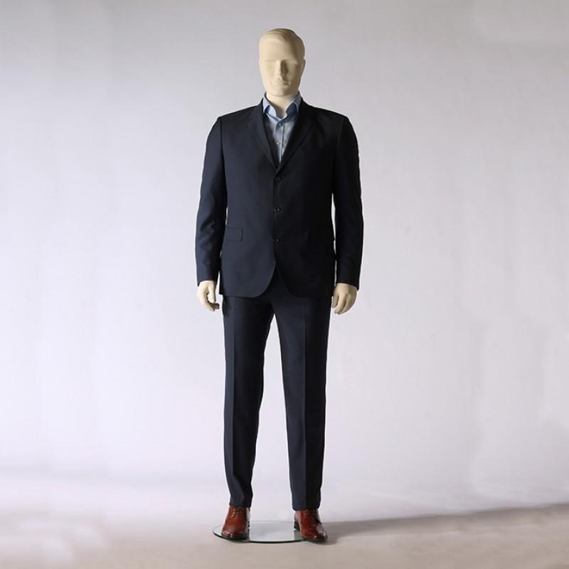 Herre mannequin – Plus size - neutral position – Hindsgaul