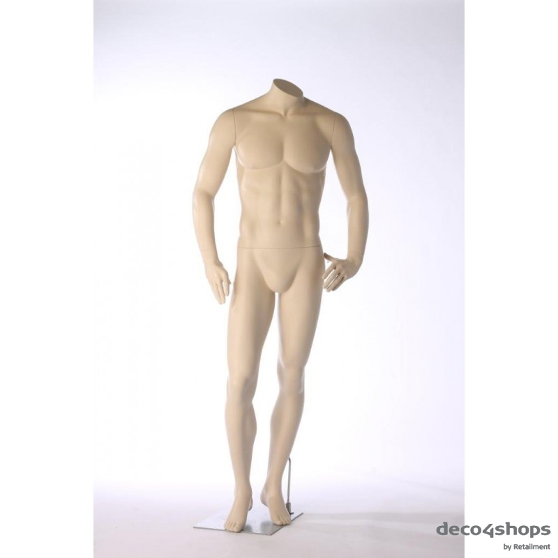 MALE MANNEQUIN - HEADLESS - DARROL